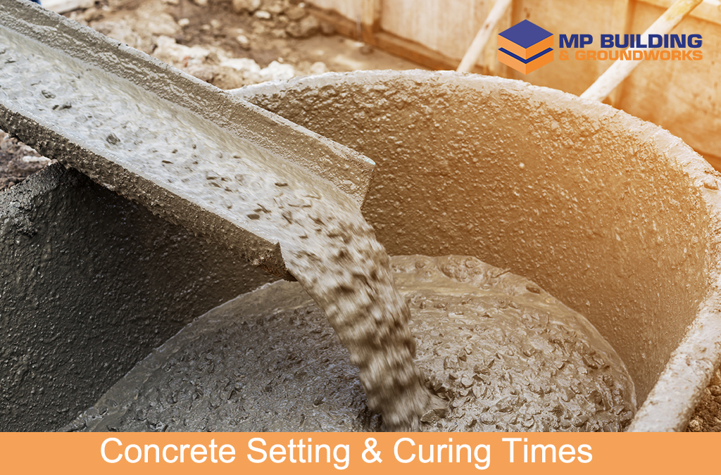 Concrete Setting & Curing Times