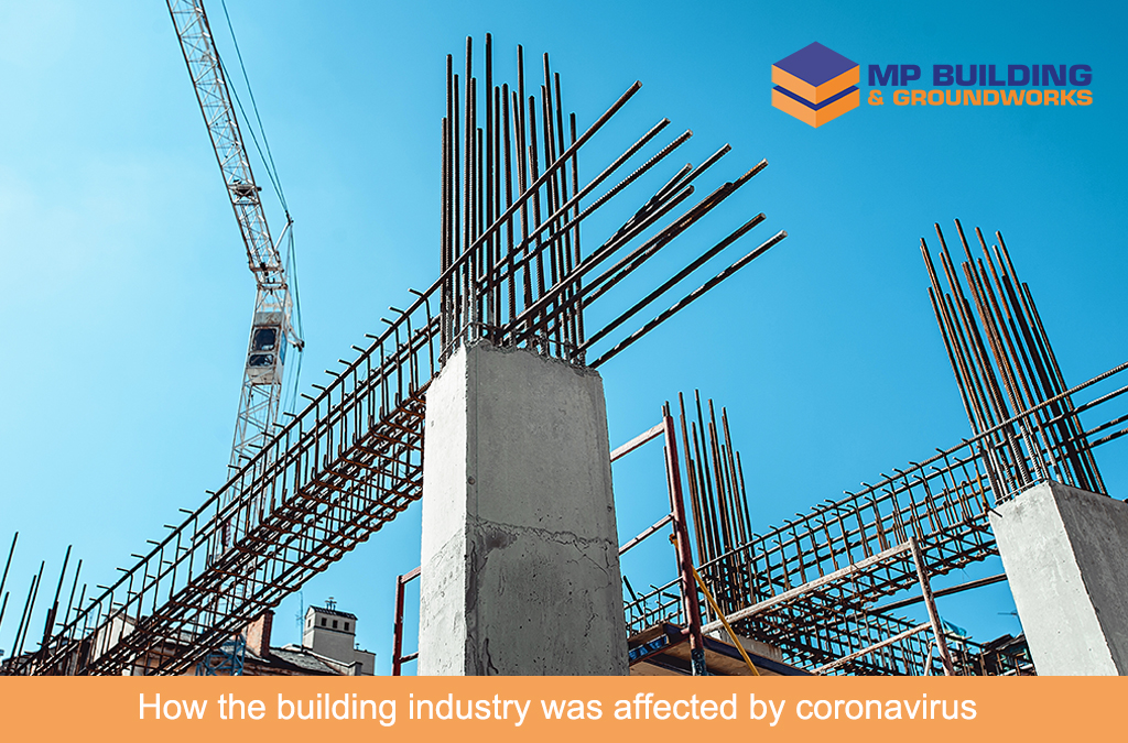 How the building industry was affected by coronavirus