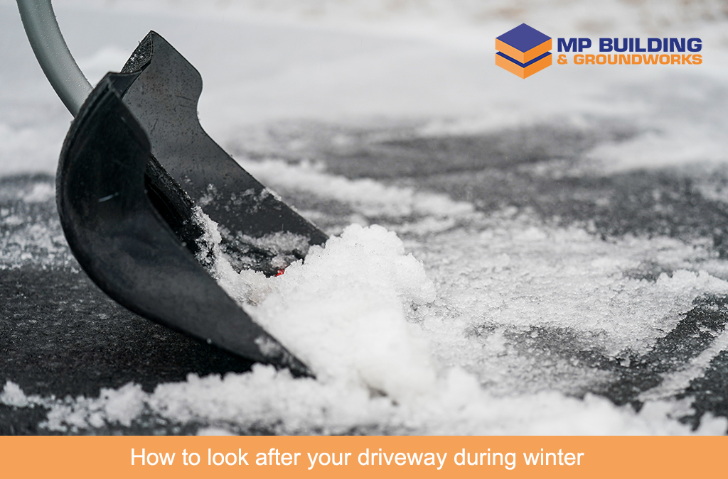 How to look after your driveway during winter